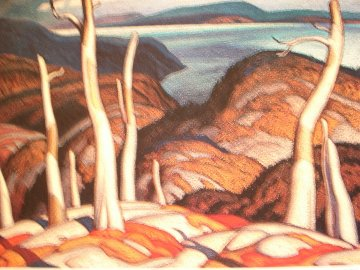 North Shore, Lake Superior 1980 Limited Edition Print - A.J. Casson