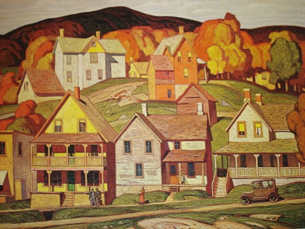 Parry Sound 1980 Limited Edition Print by A.J. Casson