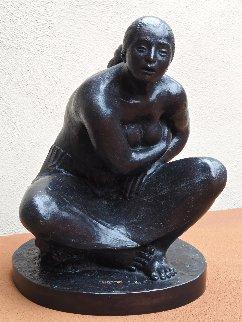 Untitled Bronze Sculpture 2006 18 in Sculpture by Felipe Castaneda