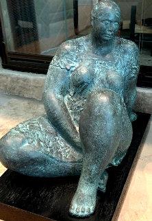 La Espara Bronze Sculpture 1979 15 in Sculpture by Felipe Castaneda