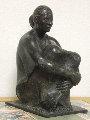 Atardecer Bronze Sculpture 2005 Sculpture - Felipe Castaneda