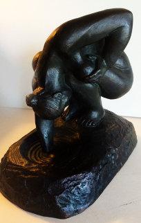 Bathing Woman Bronze Sculpture 1998 Sculpture - Felipe Castaneda