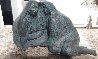 Mujeras Con Manta Bronze Sculpture 1987 19 in  Sculpture by Felipe Castaneda - 0