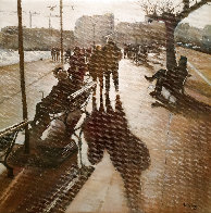Strolling Along the Bay of Santander 2019 14x14 Original Painting by Tomas Castano - 0