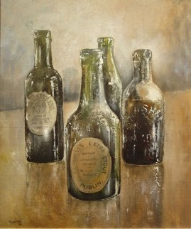 Guinness Collection 2008 18x14 Original Painting - Tomas Castano
