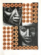 Negro Es Bello II - Black is Beautiful 1969 Limited Edition Print by Elizabeth Catlett - 1