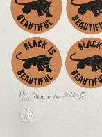 Negro Es Bello II - Black is Beautiful 1969 Limited Edition Print by Elizabeth Catlett - 4