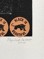 Negro Es Bello II - Black is Beautiful 1969 Limited Edition Print by Elizabeth Catlett - 3