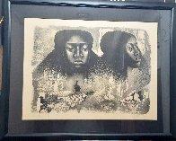 Lovie Twice AP 1976 Limited Edition Print by Elizabeth Catlett - 1