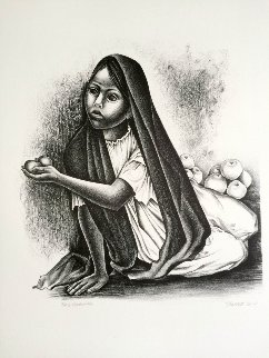 Vendedora 2001 Limited Edition Print by Elizabeth Catlett