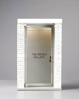 1:6 Scale Wrong Gallery Mixed Media Sculpture 2006 18 in Sculpture - Maurizio Cattelan
