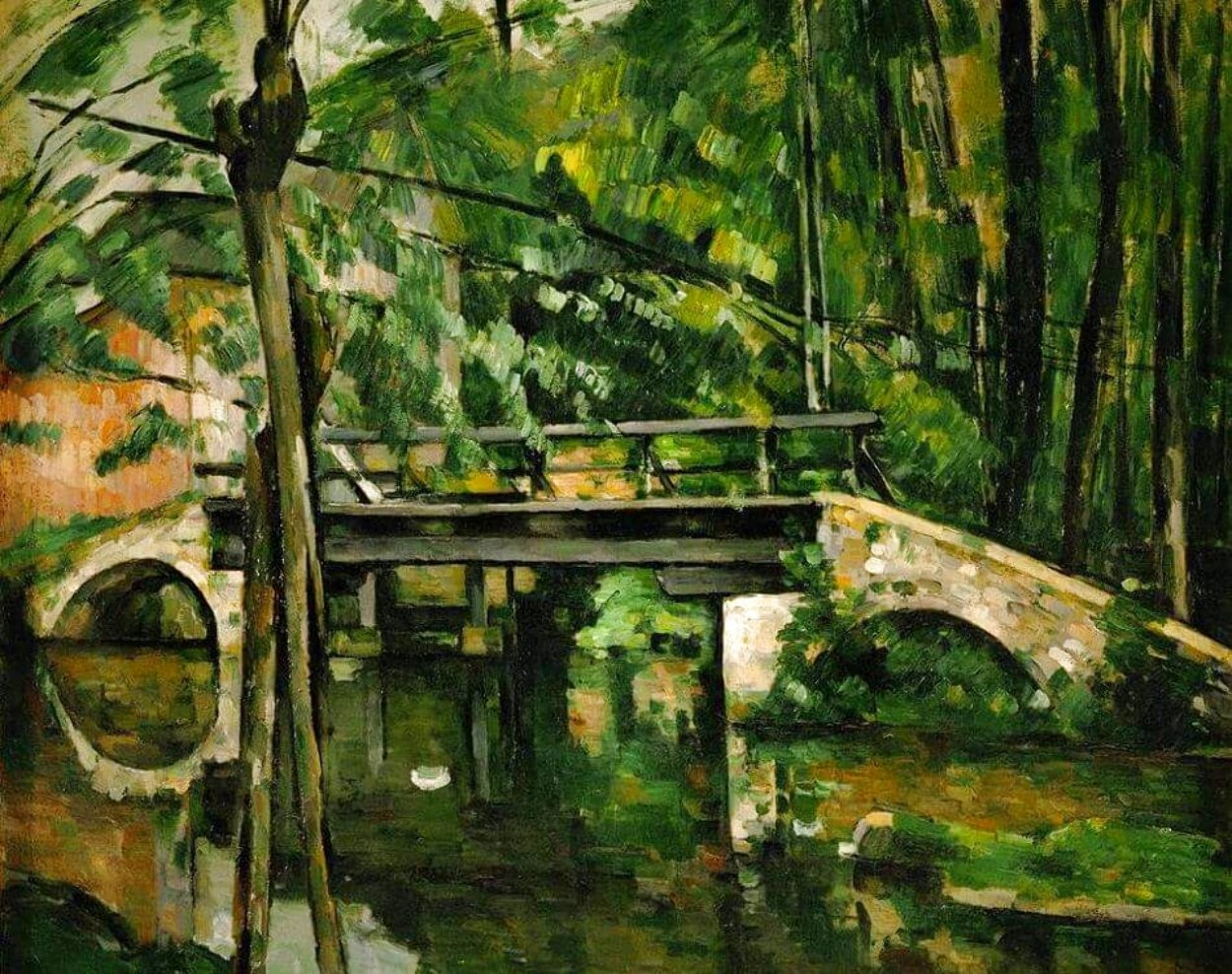 Bridge of Maincy Limited Edition Print by Paul Cezanne
