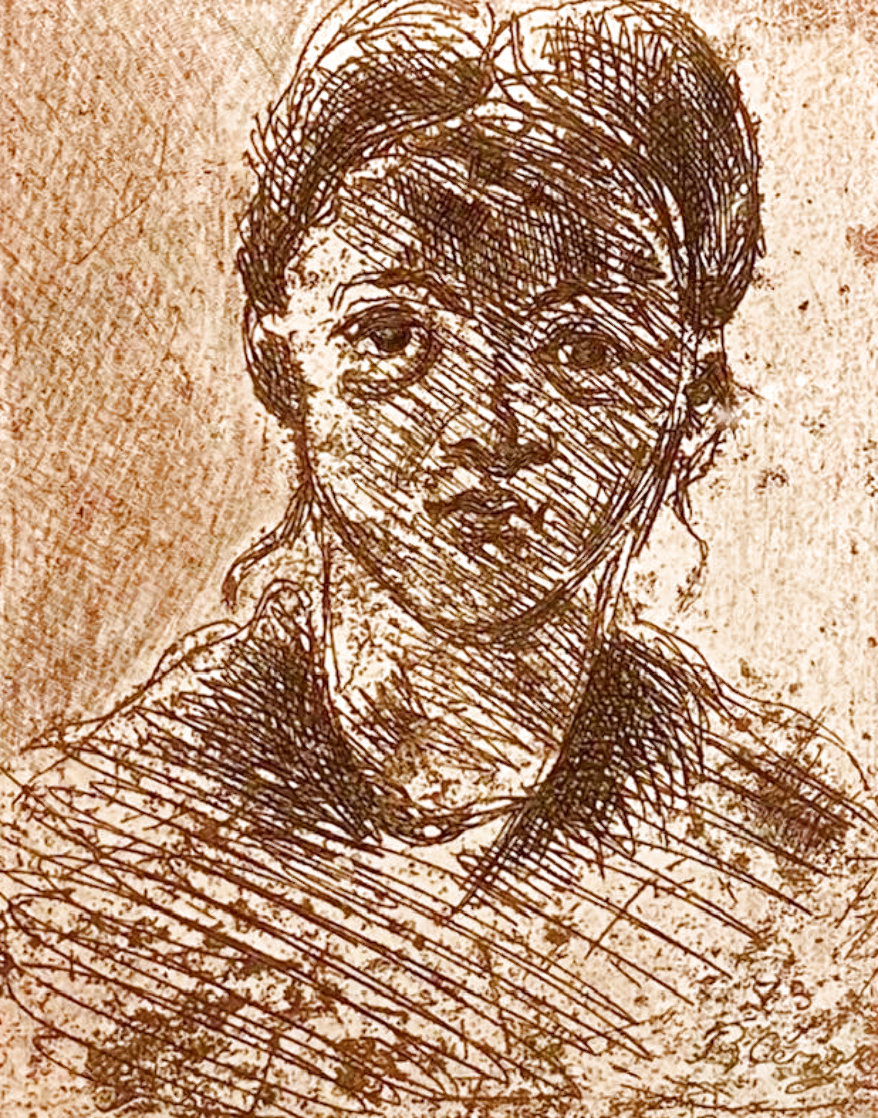 Portrait of a Young Girl 1914 Limited Edition Print by Paul Cezanne