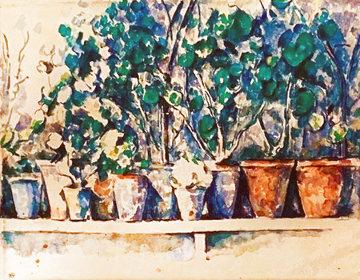 Tavola 6 Limited Edition Print - Paul Cezanne