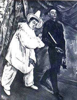 Le Mardi Gras 1914 Limited Edition Print - Paul Cezanne