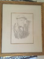 Self Portrait 1896 Limited Edition Print by Paul Cezanne - 2