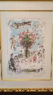 Lovers Table EA HS  Limited Edition Print by Marc Chagall - 4