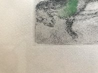 From the Bible Suite Elie En Leve Au Ciel 1958 HS Limited Edition Print by Marc Chagall - 6