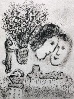 Double Visage Gris 1974 HS Limited Edition Print by Marc Chagall - 0