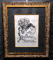Double Visage Gris 1974 HS Limited Edition Print by Marc Chagall - 1