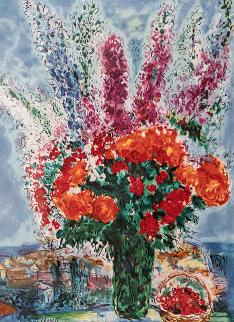 Le Boutique De Renocoules Limited Edition Print by Marc Chagall
