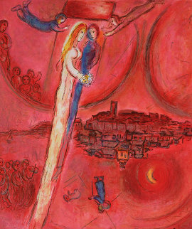 Message Biblique Sorlier Poster Other - Marc Chagall