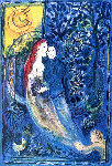 Les Maries Limited Edition Print - Marc Chagall