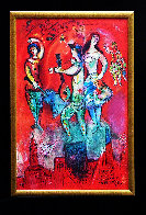 Carmen Poster 1962 Limited Edition Print by Marc Chagall - 1