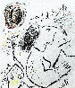 Homage a Elsa Triolet  AP 1972 Limited Edition Print by Marc Chagall - 1
