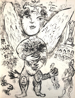 Le Cirque M. 509 1967 Limited Edition Print by Marc Chagall
