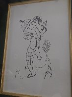 Dancer 1979 Limited Edition Print by Marc Chagall - 1