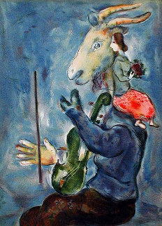 Spring Printemps   Limited Edition Print by Marc Chagall