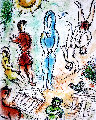 Untitled Lithograph  Limited Edition Print - Marc Chagall