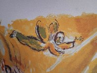 Moïse Et Le Buisson Ardent 1966 Limited Edition Print by Marc Chagall - 3