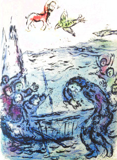 L'Odyssee Suite: Ulysses And His Companions  1975 Limited Edition Print - Marc Chagall