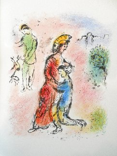 L'Odyssee Suite: Ulysses Makes Himself Known  1975 Limited Edition Print - Marc Chagall