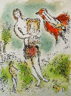 L'Odyssee Suite: Theoclymenus   1975 Limited Edition Print by Marc Chagall - 0