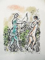 L'Odyssee Suite: Ulysses Bow  1975 Limited Edition Print by Marc Chagall - 1