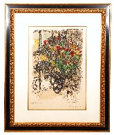 Le Bouquet Rouge 1969 Limited Edition Print by Marc Chagall - 1