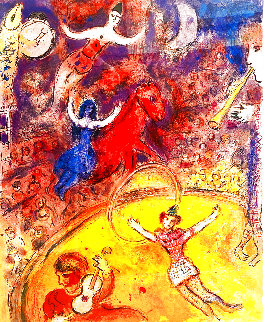 Le Cirque (The Circus) 1969 Limited Edition Print by Marc Chagall