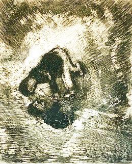 La Fable De La Fontaine 1927 HS Limited Edition Print - Marc Chagall
