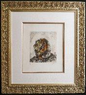 Elijah on Mount Carmel HS Limited Edition Print by Marc Chagall - 1