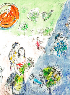Four Seasons 1974 HS Limited Edition Print - Marc Chagall