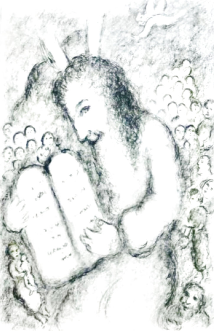 Moses 1979 HS Limited Edition Print by Marc Chagall