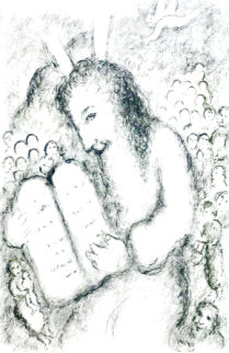 Moses 1979 Limited Edition Print - Marc Chagall