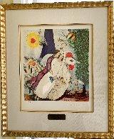 Les Maries De La Tour Eiffel 2003 Limited Edition Print by Marc Chagall - 1