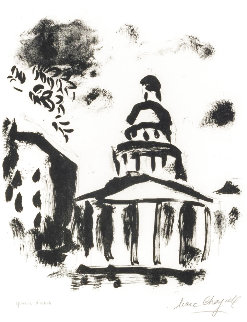 Pantheon AP 1954 HS Limited Edition Print - Marc Chagall