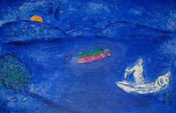 Daphnis And Chloe: Echo  1977 Limited Edition Print - Marc Chagall