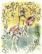 I Am Ulysses (From Odyssey I) - 1974 Limited Edition Print by Marc Chagall - 0