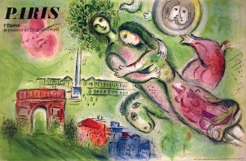 Romeo And Juliet 1964 Limited Edition Print - Marc Chagall